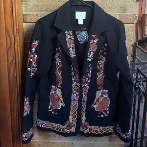 Anthropologie women's blazer.